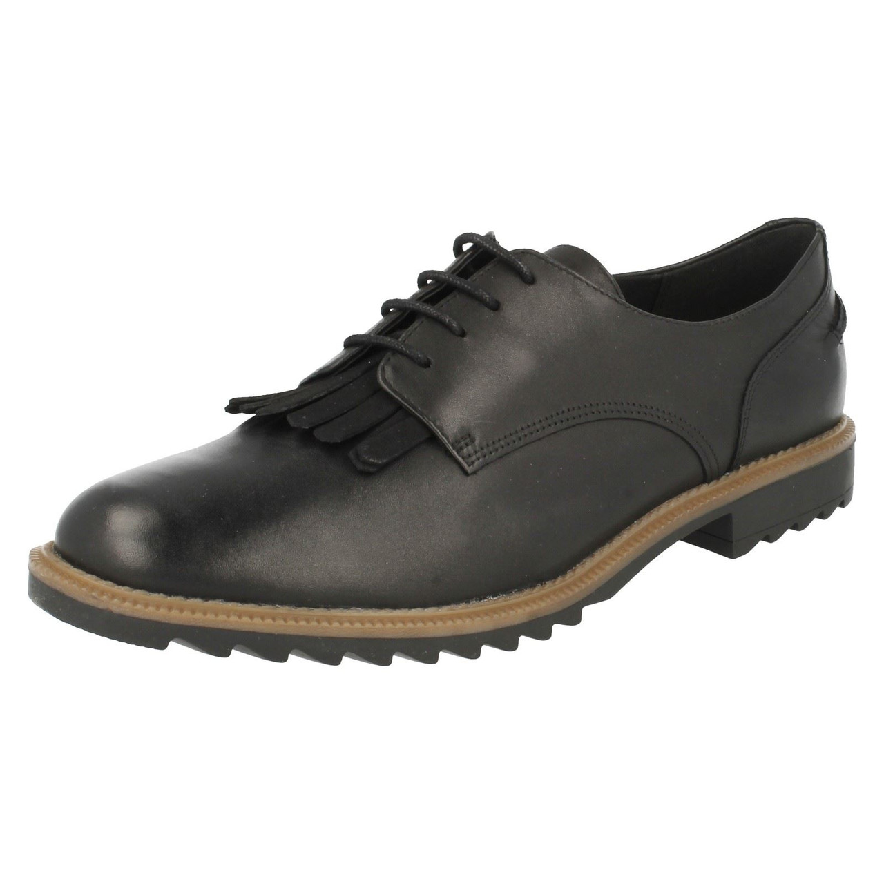 Ladies Clarks Smart Lace Up Shoes