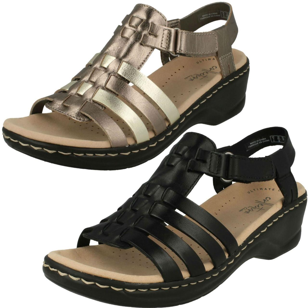 Ladies Clarks Gladiator Style Sandals