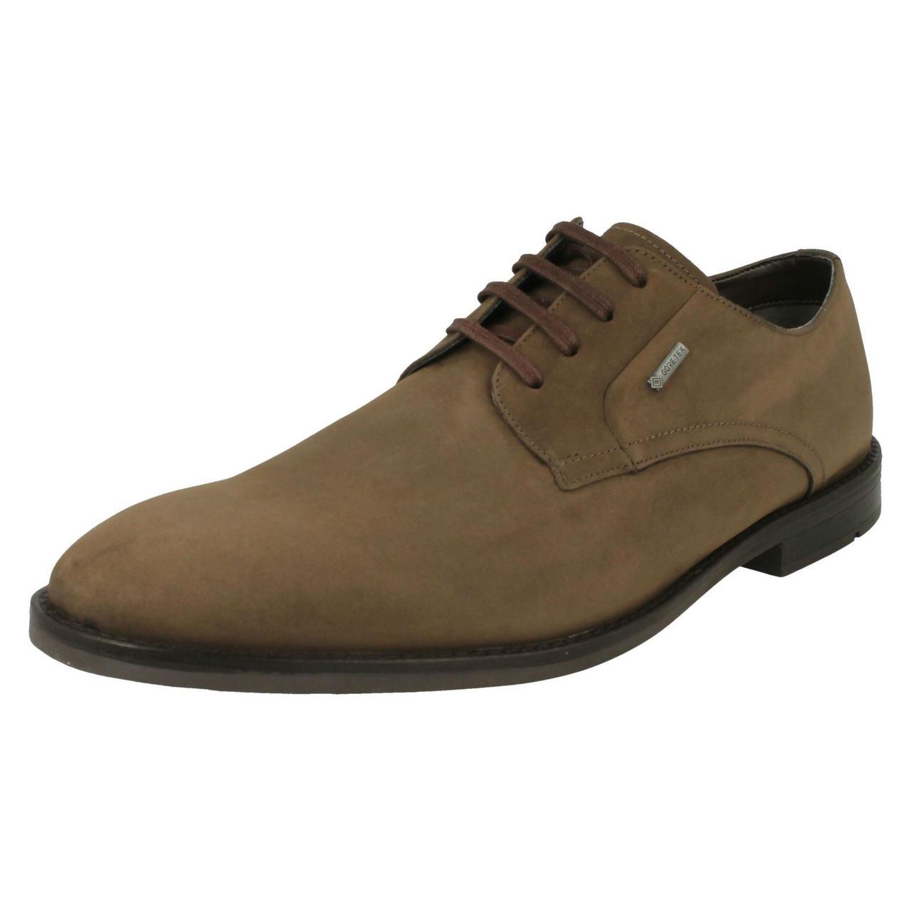 Mens Clarks Gore-Tex Lace Up Shoes