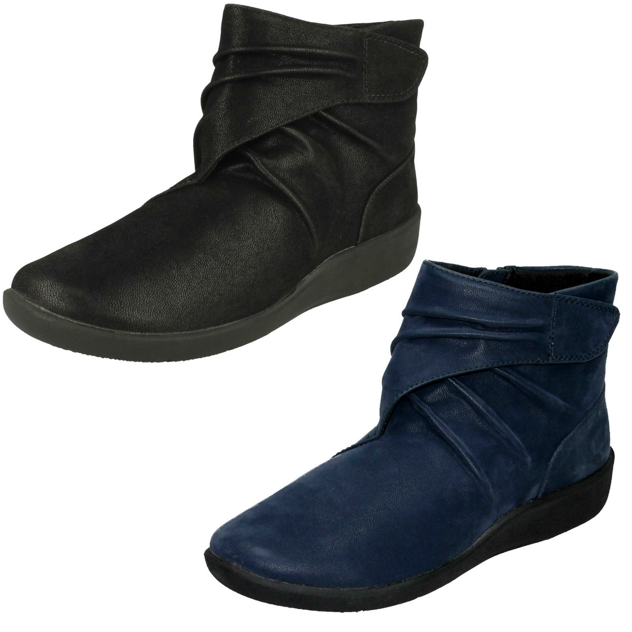 Ladies Clarks Cloud Steppers Ankle
