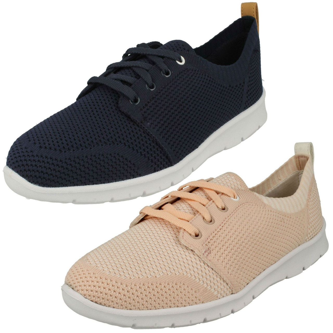 LADIES CLARKS LACE UP ACTIVE WEAR SPORTS OUTDOOR TRAINERS SHOES OUTLAY WEST
