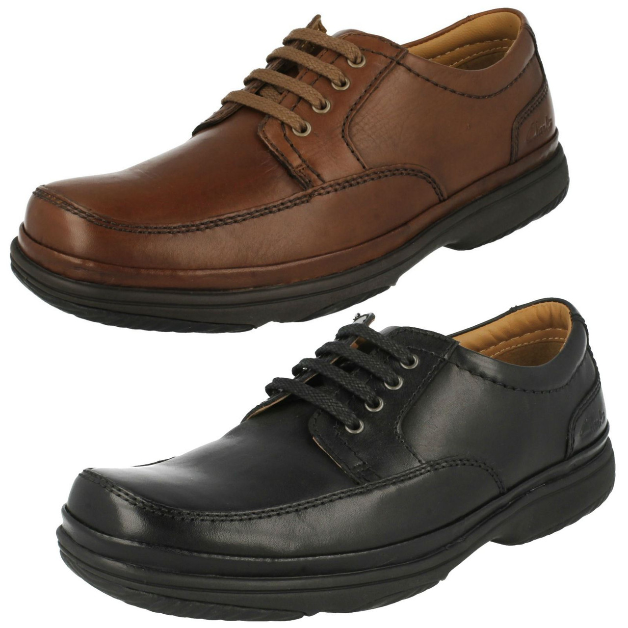 Mens Clarks Flexlight Wide Fitting Lace