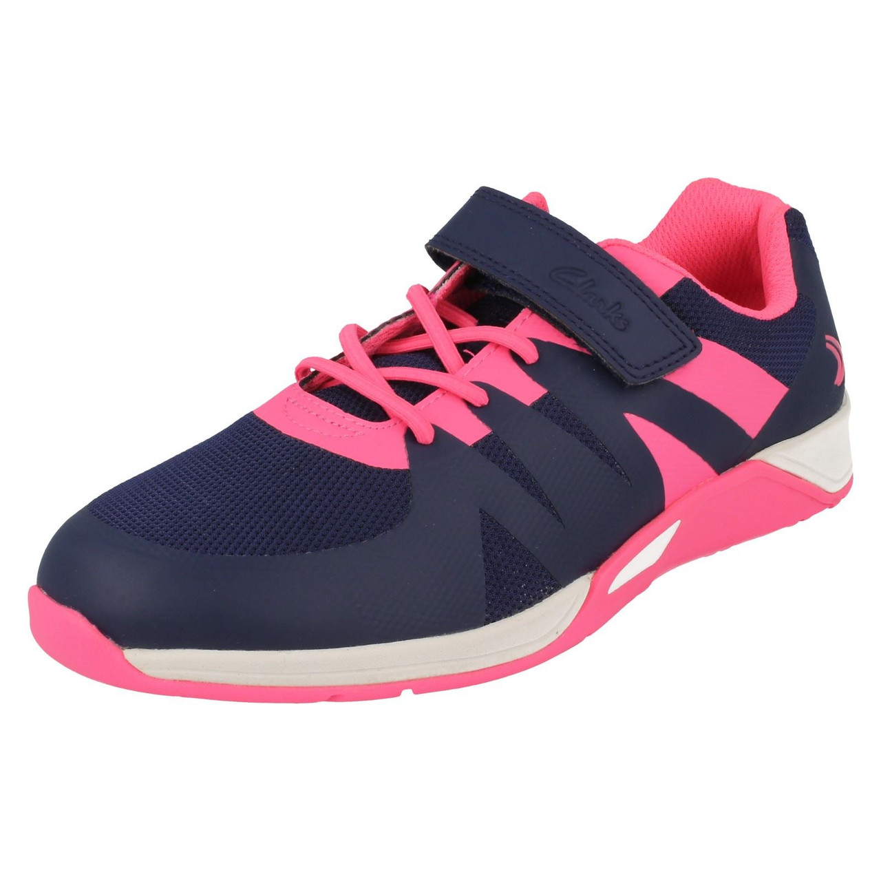 Girls Cica by Clarks Trainers Trace Star