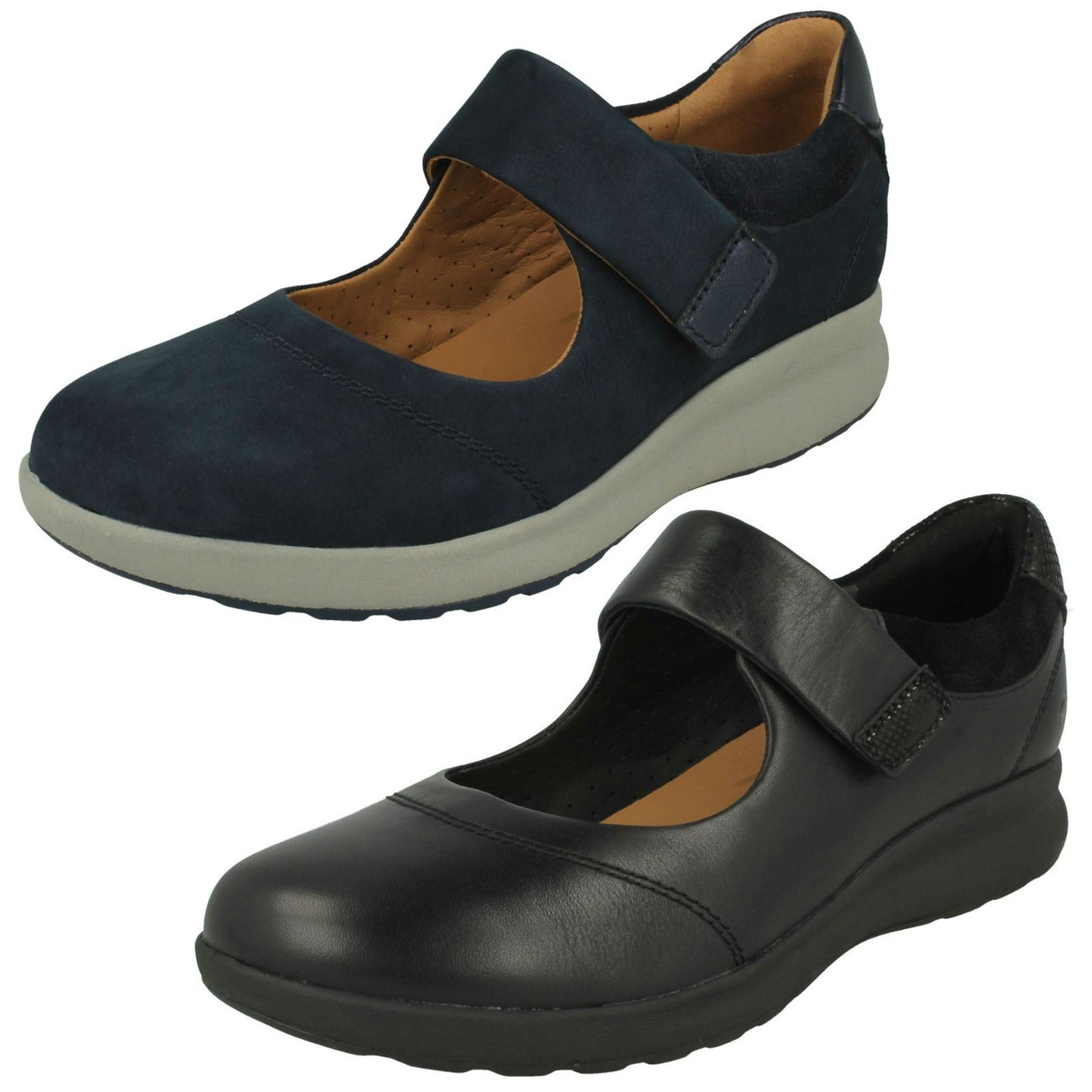 Ladies Clarks Casual Flat Mary Jane