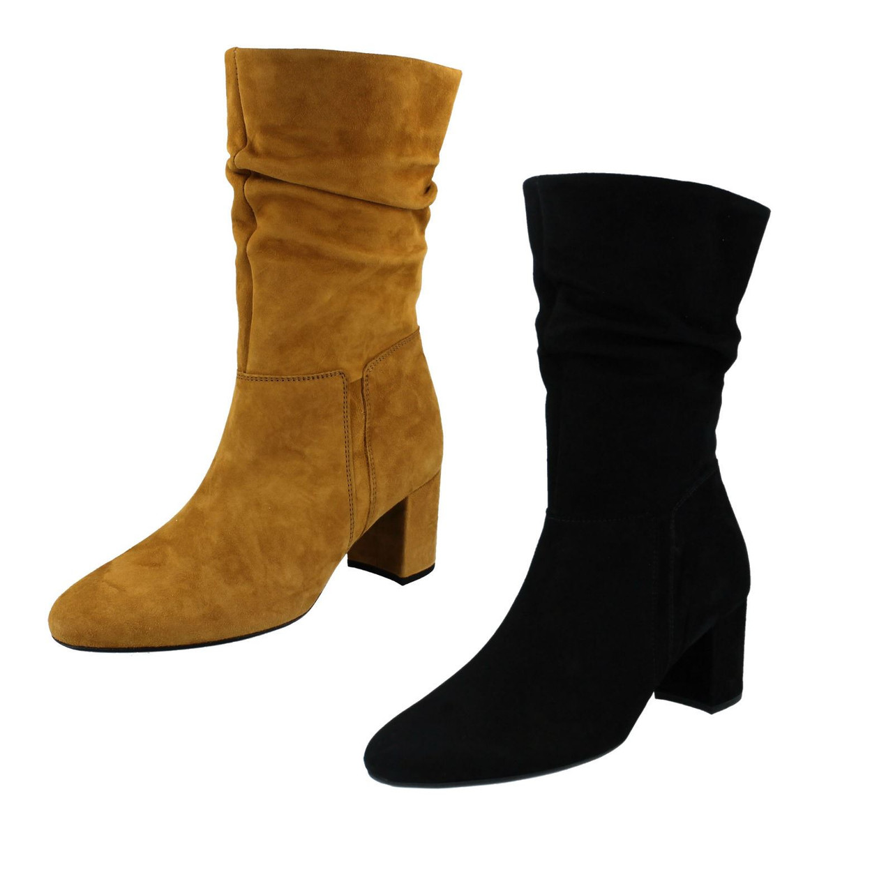 mens suede slouch boots