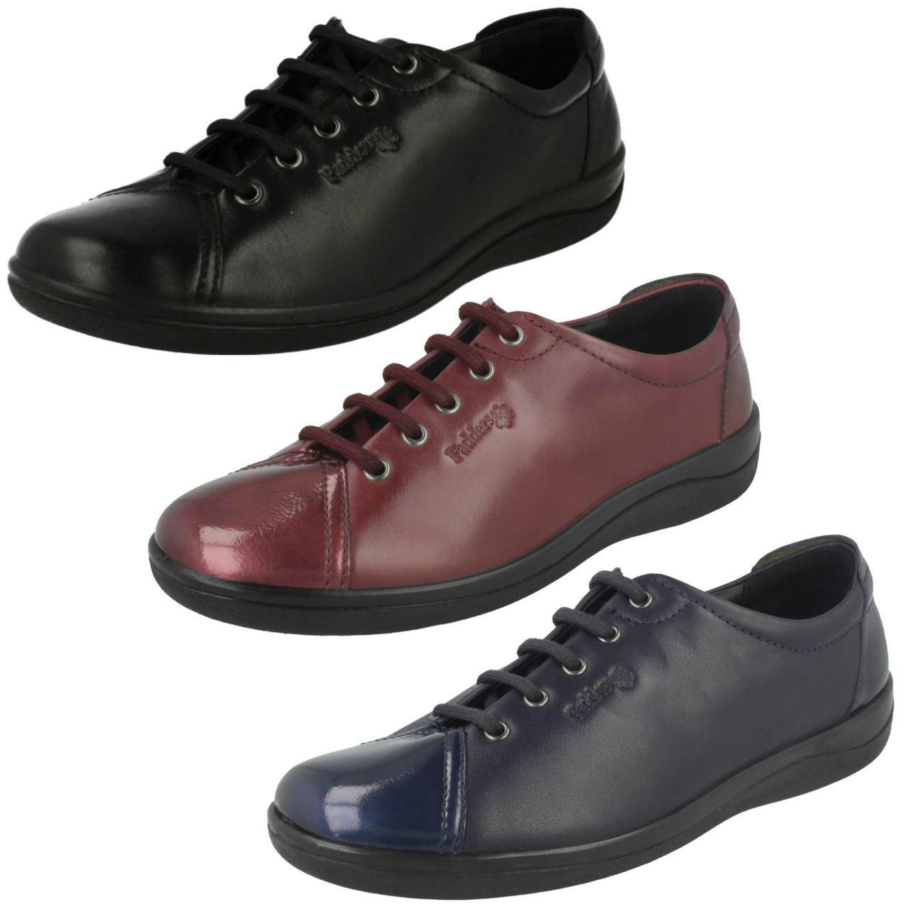 Ladies Padders Galaxy Lace Up Everyday Shoes
