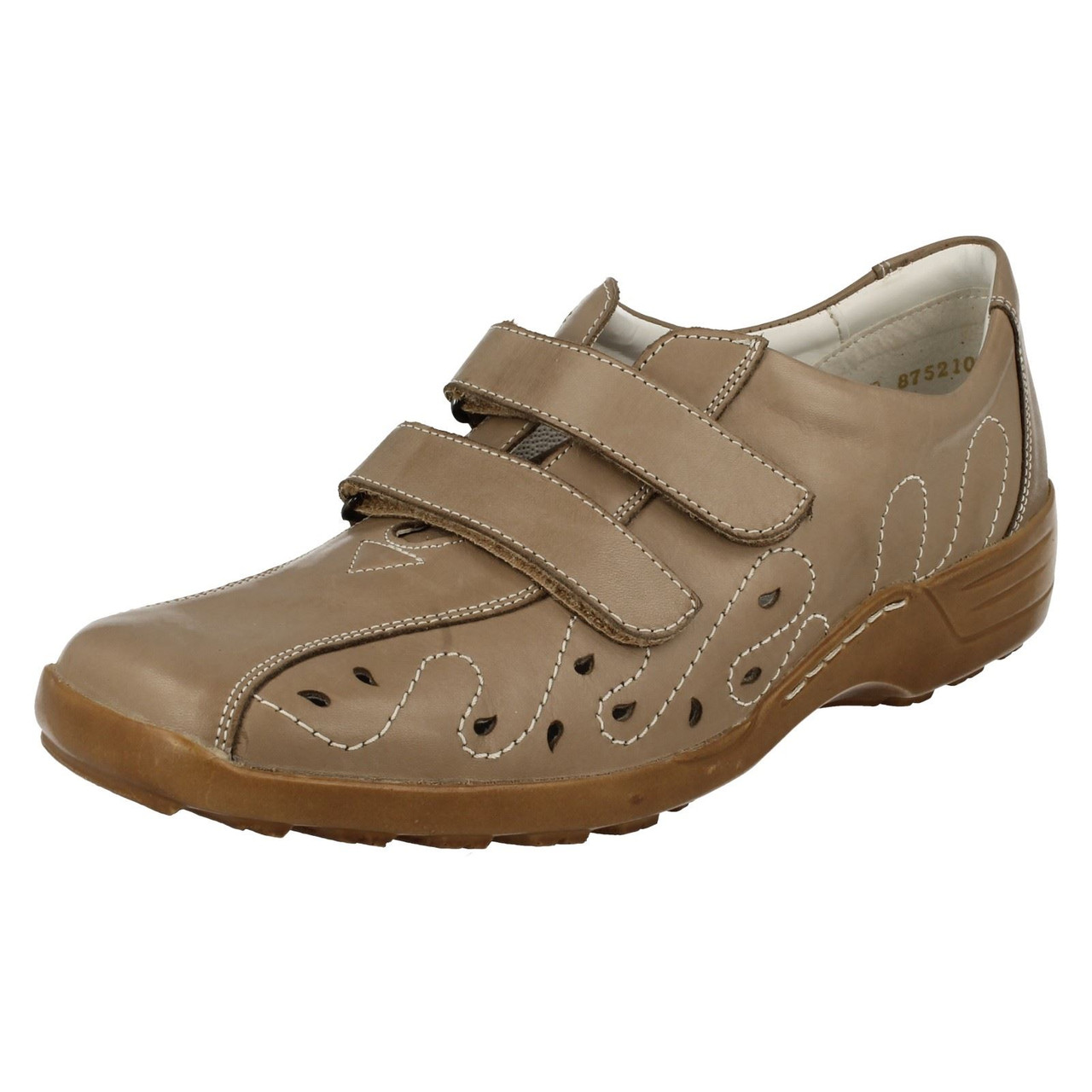 Ladies Remonte Extra Wide Fitting Flat