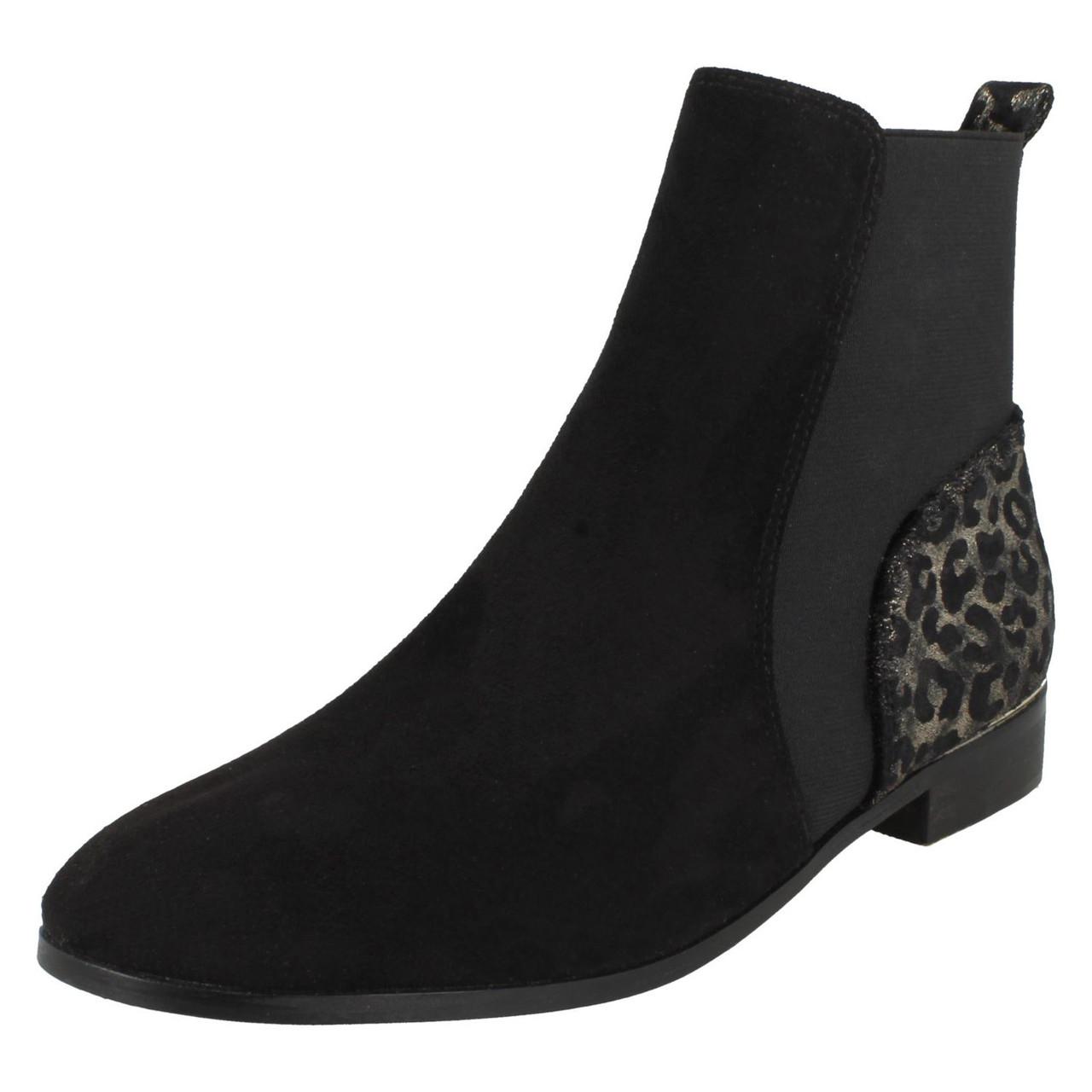 ladies animal print boots