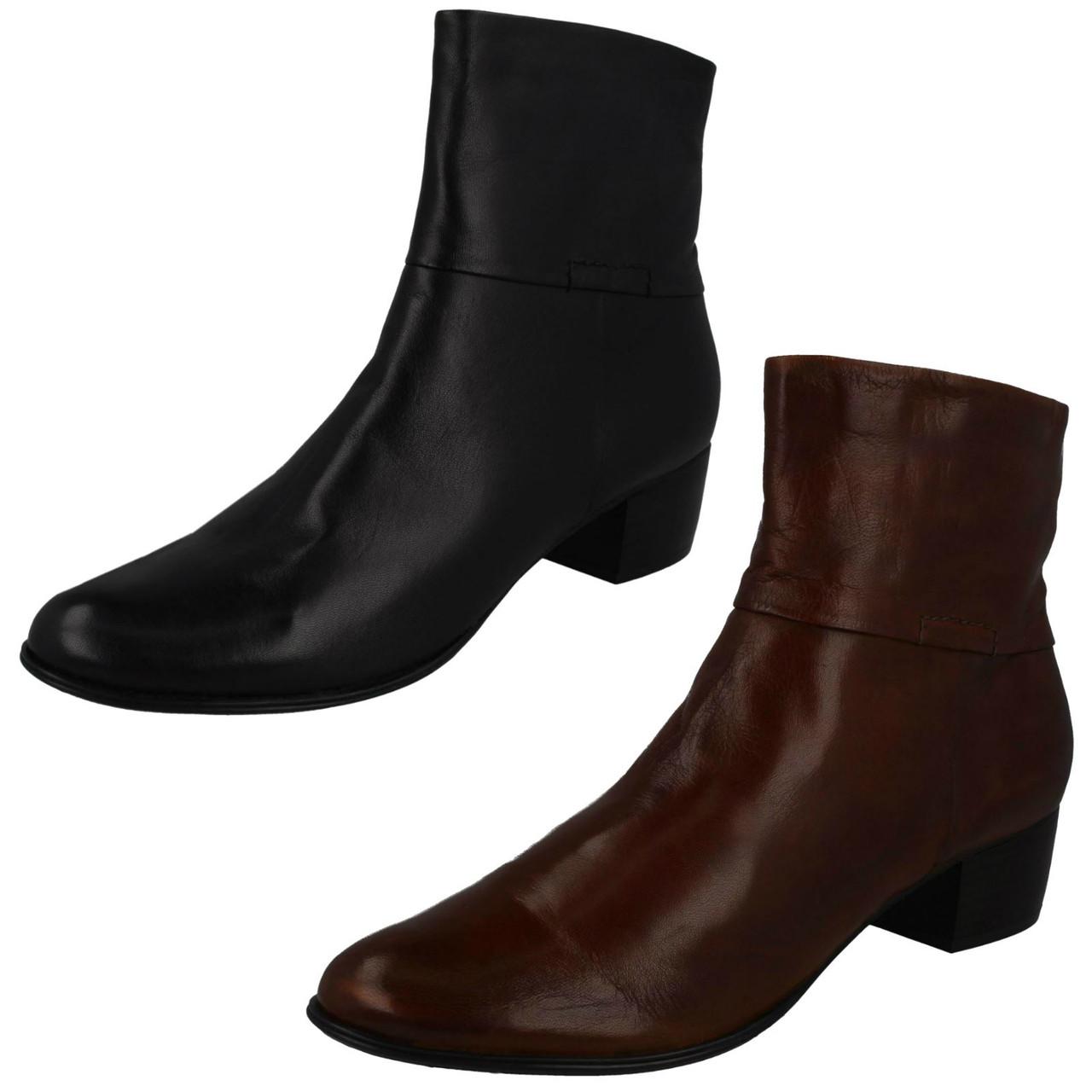 Ladies Van Dal Heeled Ankle Boots Romeo