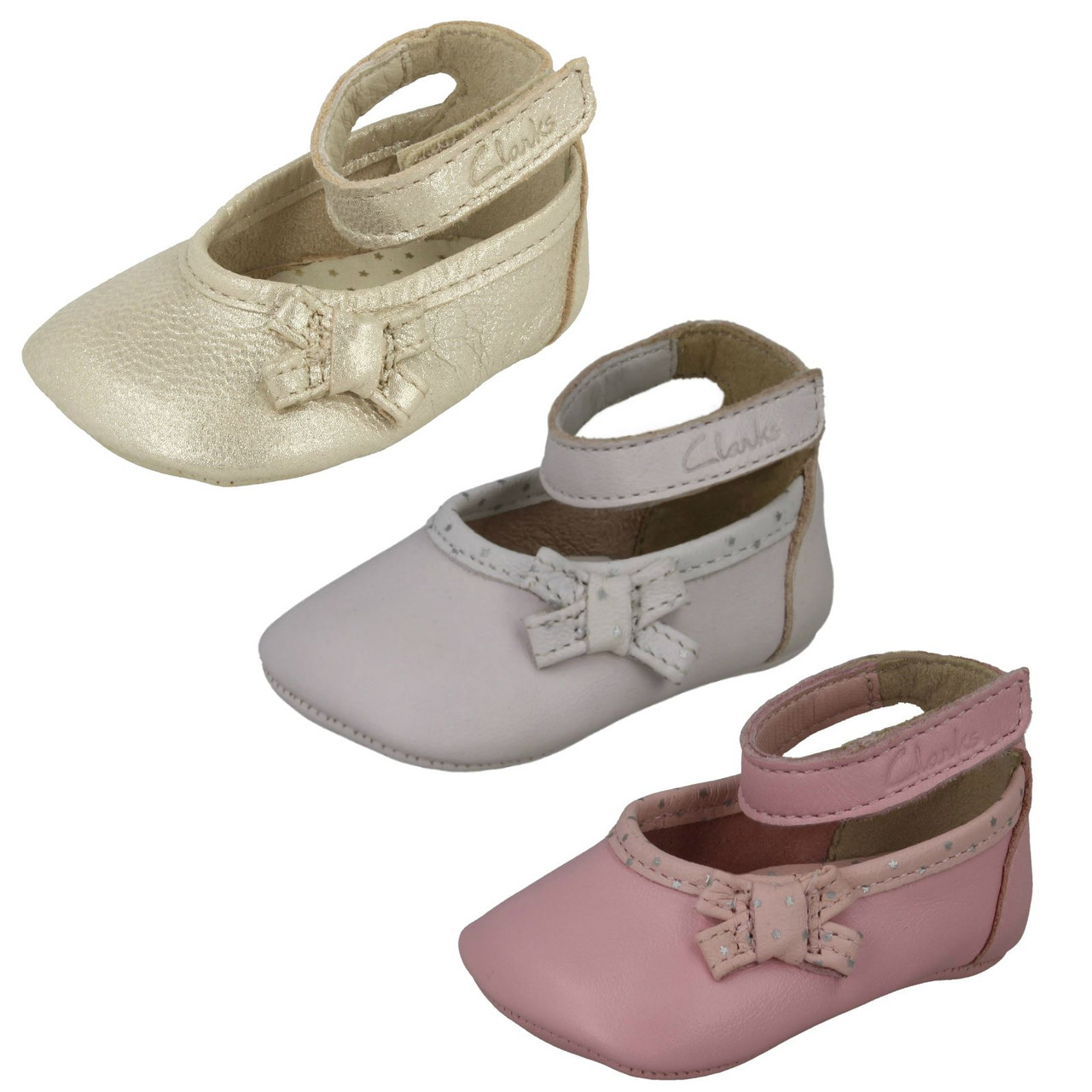 Girls Clarks First Shoes Baby Harper