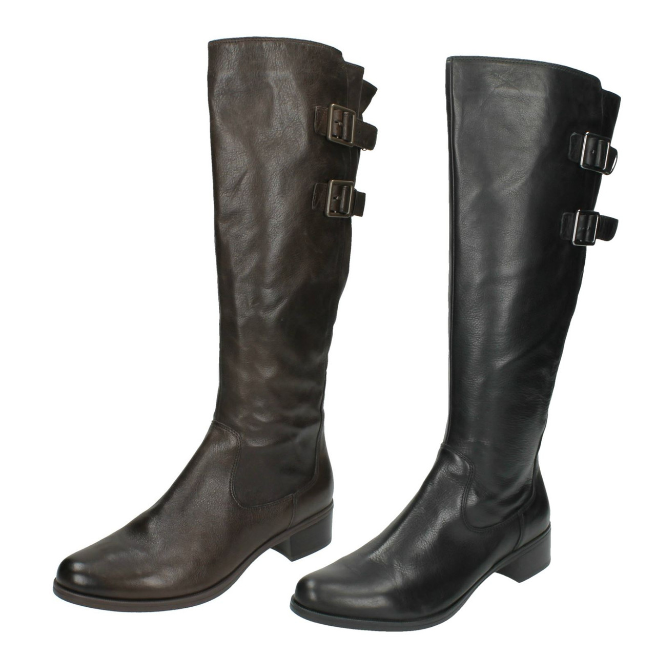Ladies Clarks Knee High Boots Likeable Me