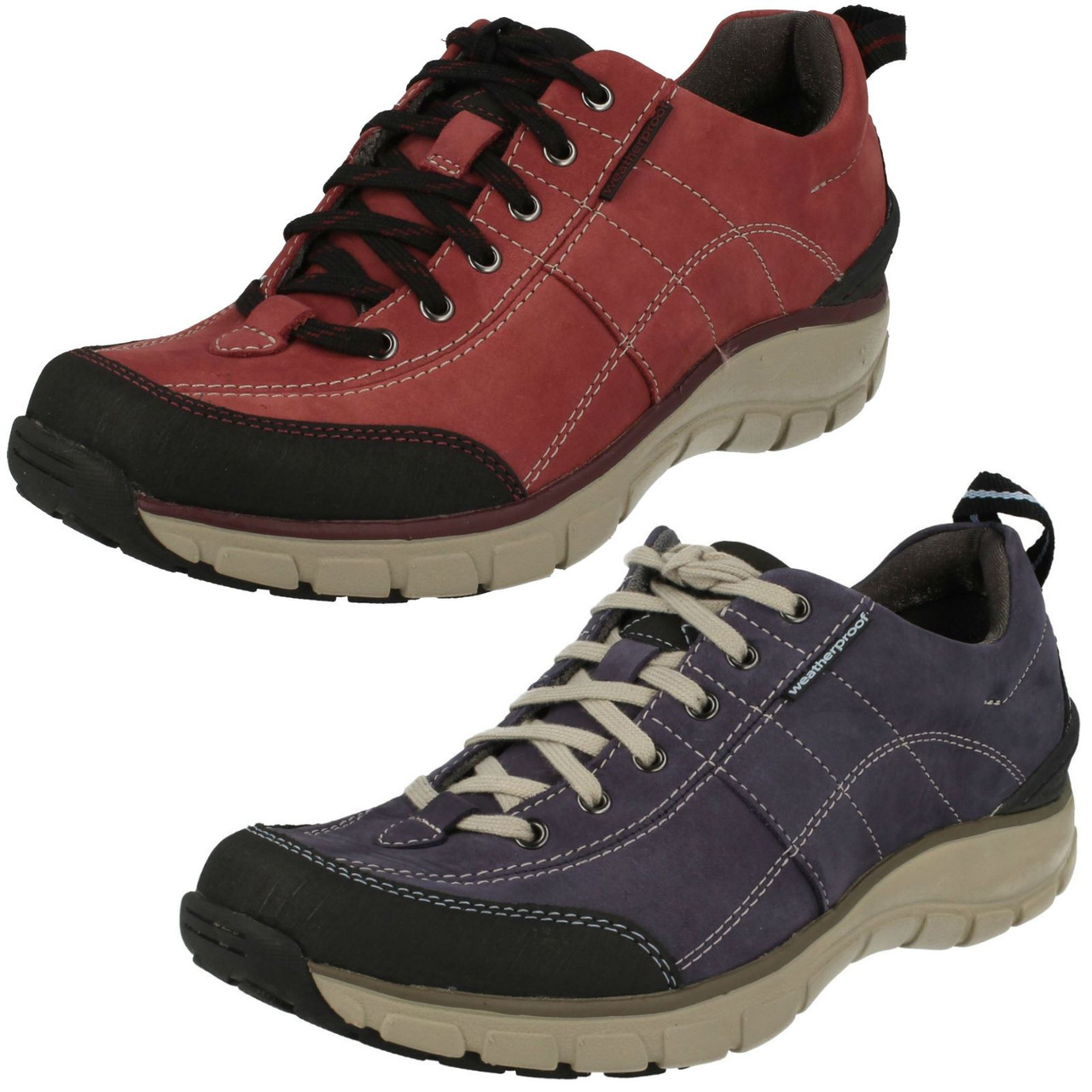 Ladies Clarks Active Wear Casual Shoes