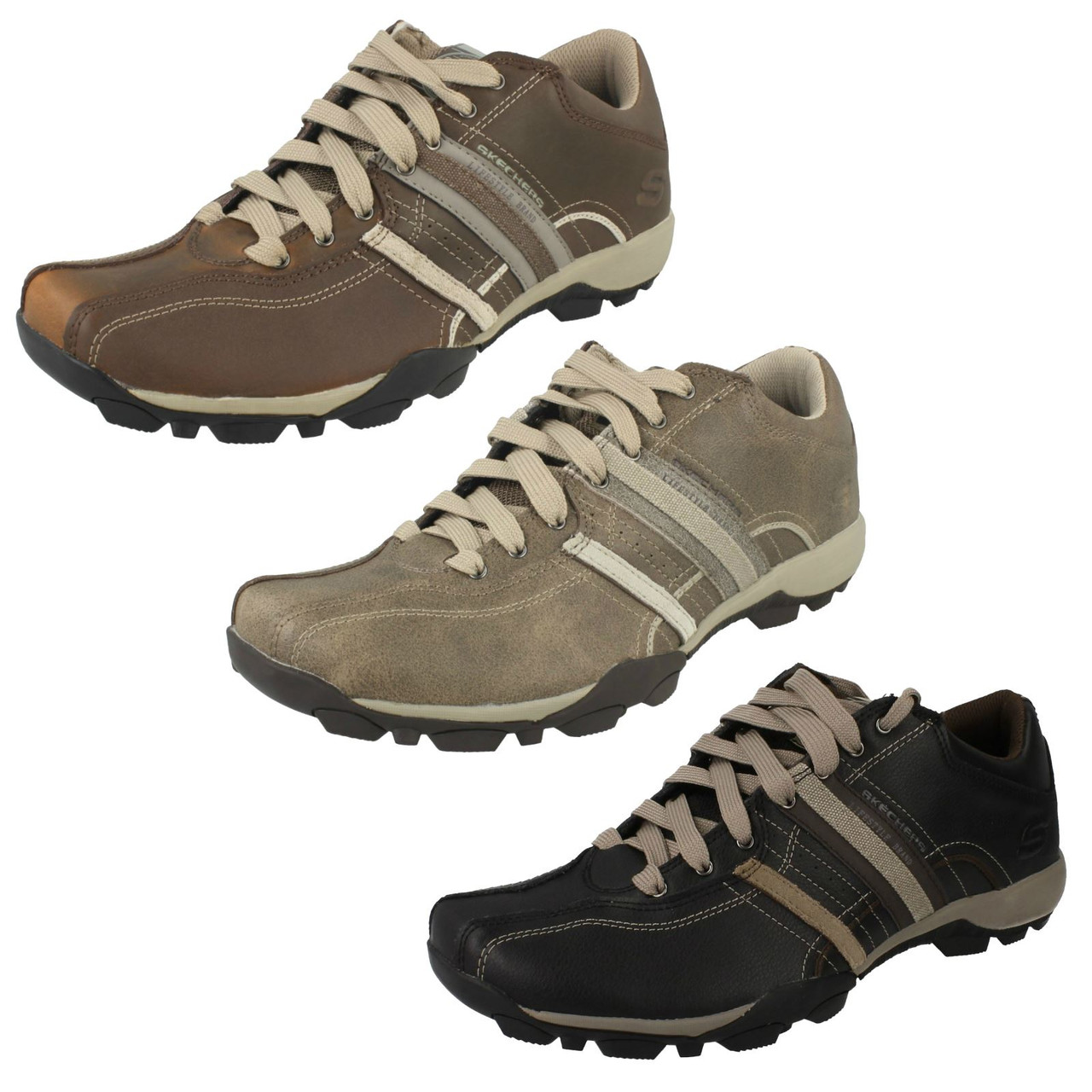 Mens Skechers Casual Shoes Refresh 50856