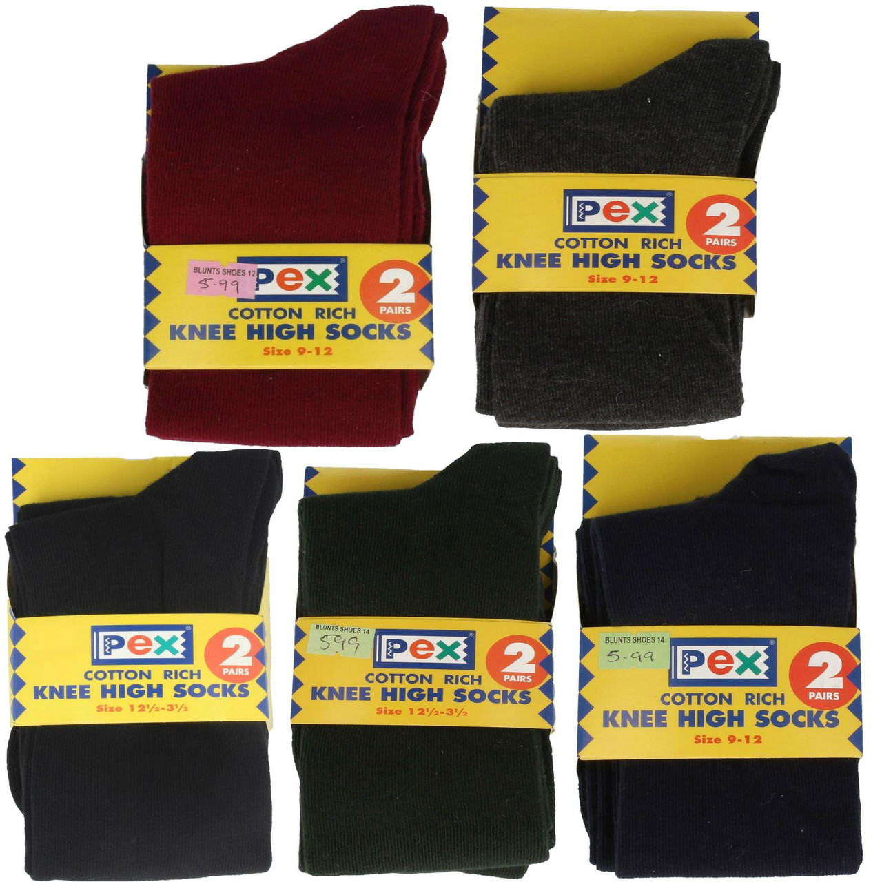 Short Socks Girls PEX Patterned