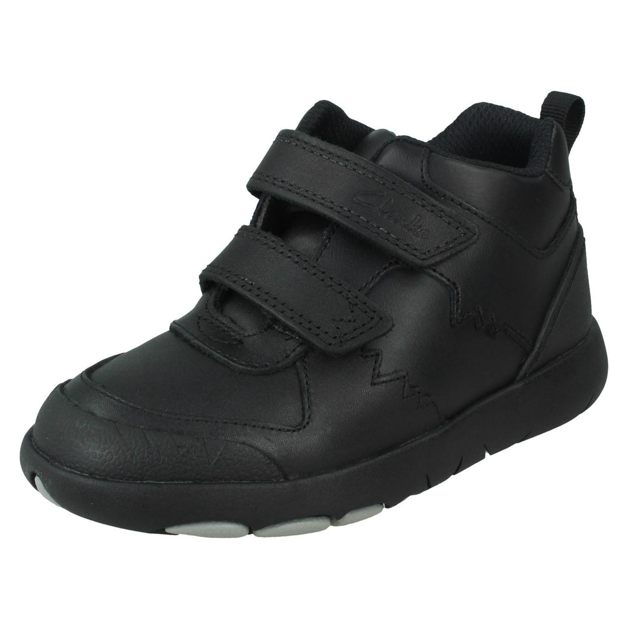 Boys Clarks Formal School Boots - Rex Crash