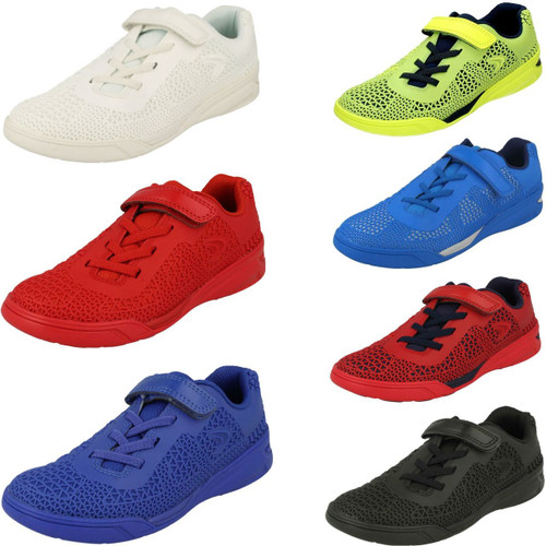 Boys Cica by Clarks Trainers /'Swerve Go/'