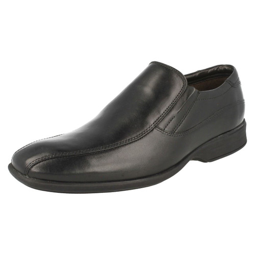 Clarks Boys Slip On Formal Shoes Asher Stride