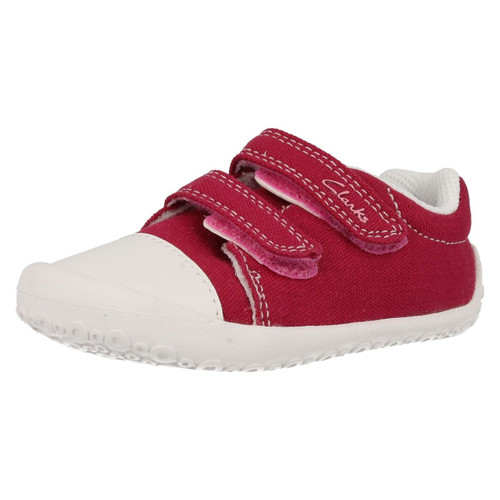 Infant Girls Clarks Casual Doodles Choc Cake