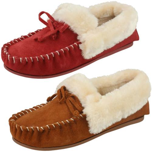 Ladies Four Seasons Memory Foam Slipper Shoes /'Susan/'