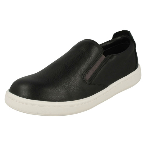 Clarks Boys Sports Inspired High Rise School Shoes Hula Spin GTX