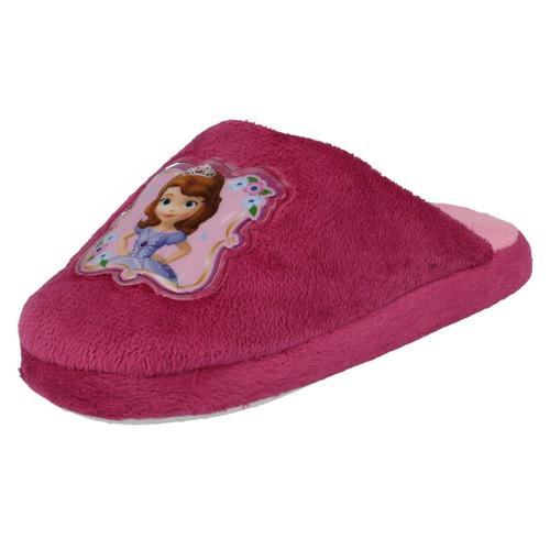 Girls Disney Princess Pink Hook /&Loop Sofia The First Canvas Shoes Sophia Dreams