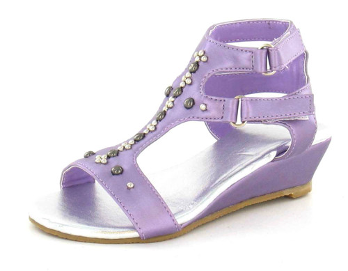 Girls Spot On Wedge Sandals