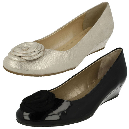 Ladies Van Dal Bow Detail Smart Shoes Hopewell XE