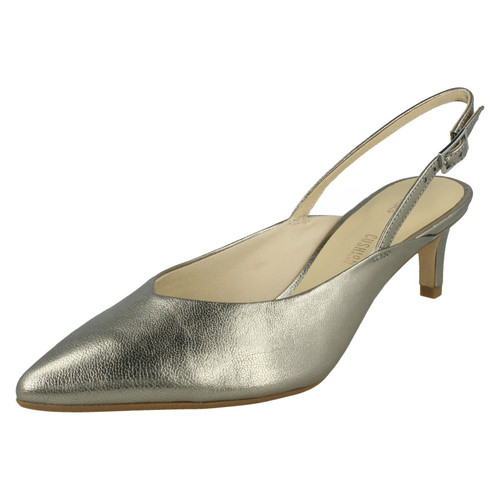 Ladies Clarks Slingback Heeled Shoes Laina55 Sling