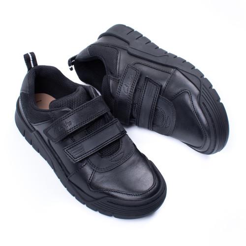 Boys Clarks Bumper Toe School Shoes Scooter Speed