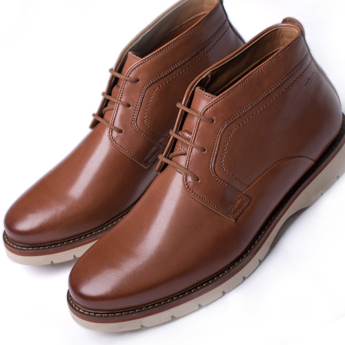 Mens Clarks Casual Ankle Boots Bayhill Mid