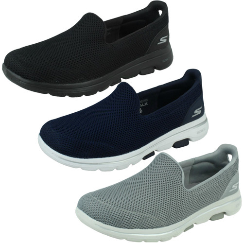 Ladies Skechers Casual Slip On Trainers Go Walk 5 15901