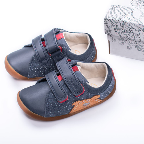Boys Clarks Casual First Shoes Roamer Bear
