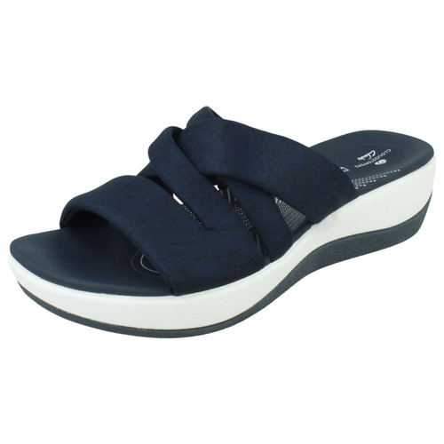 Ladies Clarks Casual Slip On Sandals Arla Rilee