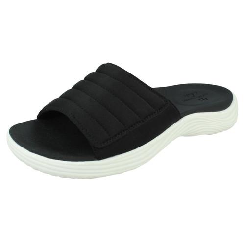 Ladies Clarks Slider Sandals Lola Surf