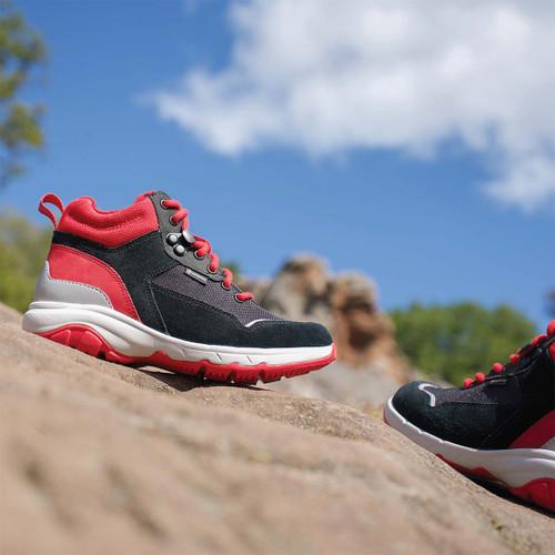 Boys Clarks Gore-Tex Lace Up Ankle Boots - Rock Race GTX K