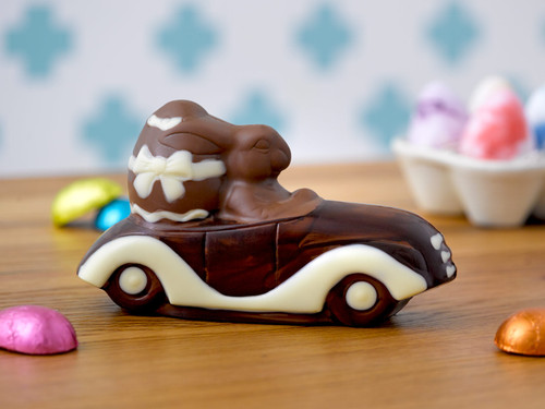 Cruisin' Chocolate Easter Bunny View Product Image