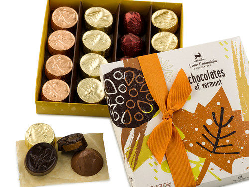 Autumn Chocolates of Vermont gift box View Product Image