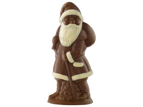 Organic giant chocolate Santa View Product Image