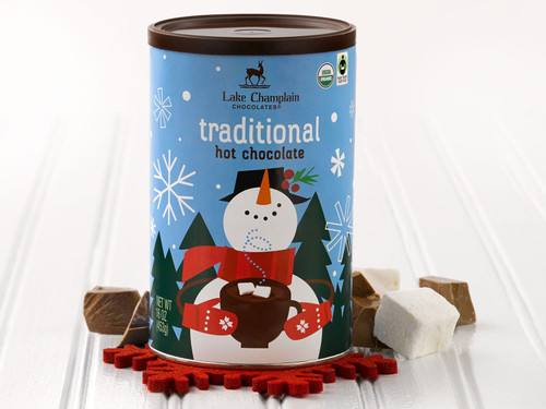 Organic and Fair Trade Christmas Hot Chocolate Mix View Product Image