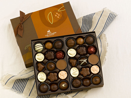Assorted Gourmet Chocolates in a 30pc selection gift box View Product Image