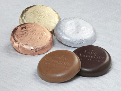 Bulk Assorted Organic Chocolate Coins View Product Image