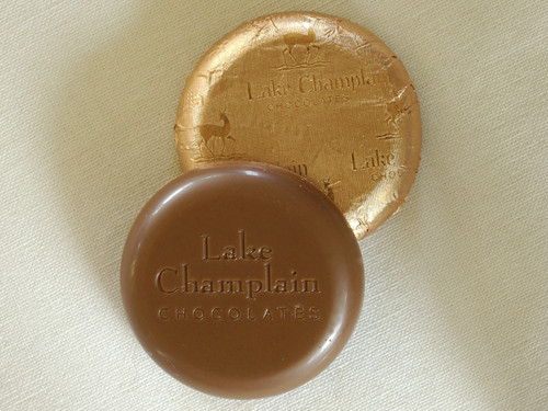 Bulk Organic Milk Chocolate Coins wrapped in copper foil View Product Image