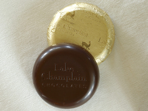 Bulk Organic Dark Chocolate Coins wrapped in gold foil View Product Image
