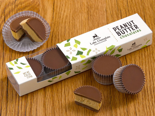 Peanut Butter Chocolates in 5pc gift box View Product Image