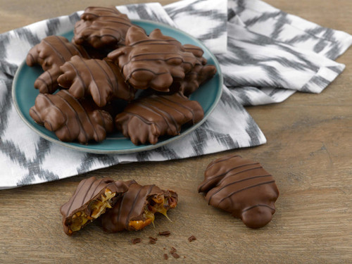 Milk Chocolate Pecan Caramel Clusters View Product Image