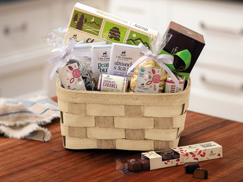 Dark Chocolate lovers gift basket View Product Image