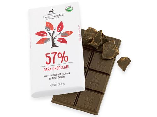 Organic Dark Chocolate Bar View Product Image
