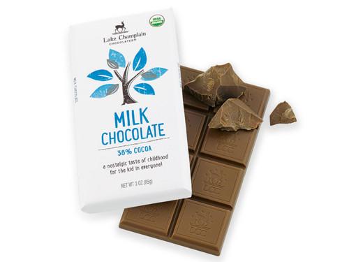 Organic Milk Chocolate Bar View Product Image