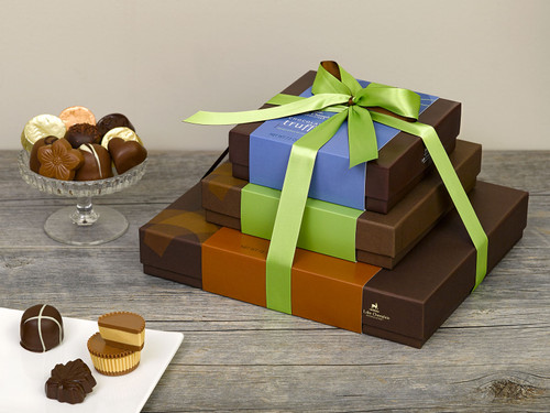 Chocolate Gift Tower View Product Image