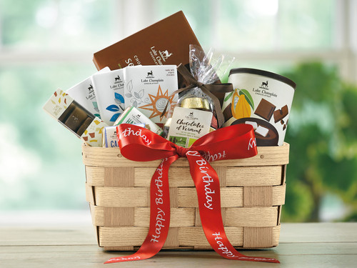 Happy Birthday Chocolate Gift Basket View Product Image